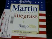 MARTIN GUITAR Bass-Upright MARTIN BANJO STRINGS BLUEGRASS